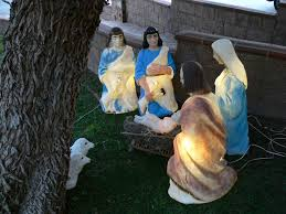 Nativity Sets Outdoor Plastic Lighted Jesus In Love Blog Nativity 1 Manger Scene As Adoption