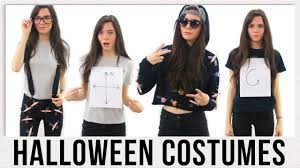 last minute diy halloween costume ideas 2016 youtube