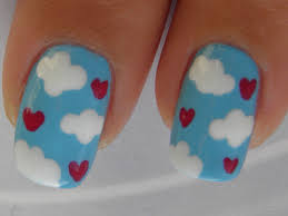 valentine nail art tutorial im on cloud 9 youtube