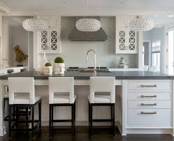 bling lights kitchen beach style with large island xenon pendant