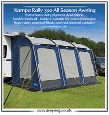 390 Awning New 2015 Model Kampa Rally All Season Heavy Duty Large 390 Caravan