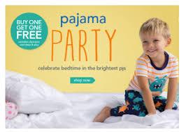 s pajama sale buy 1 get 1 free