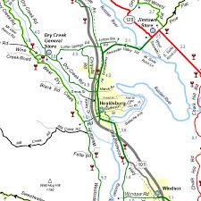 Portland Bike Map by Sonoma Cycling Vacations Sonoma Bicycle Tours