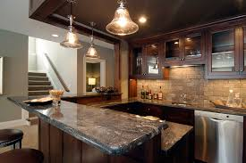 Brown Subway Tile Backsplash by Tile Gallery Rubble Tile Minneapolis Tile Shop And Showroom