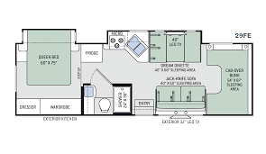 Keystone Trailers Floor Plans by New Or Used Class C Motorhomes For Sale Rvs Near Charleston
