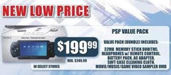 psp gets new low price 199 for value pack update 1