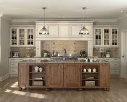 antique white kitchen cabinets for terrific design amaza kitchen interior with antique white cabinets using traditional pendant lighting and concrete tile backsplash