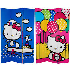 Kids Hello Kitty Bedroom Set Kids Room Oriental Decorative Kids Partition Panels As Room