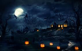anime halloween backgrounds scary halloween hd wallpapers