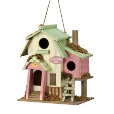 wholesale love nest wood wooden bird house birdhouse cheap