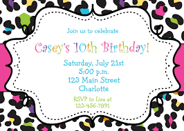 14th birthday party invitations top 10 girls birthday party invitations theruntime com