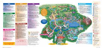 Epcot Center Map Disney World Animal Kingdom Map Grahamdennis Me