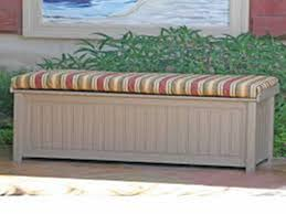 Outside Storage Bench Waterproofing How To Waterproof Outdoor Storage Bench Home