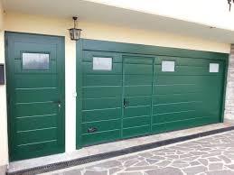 porta sezionale preventivo portone sezionale con porta pedonale a valdobbiadene