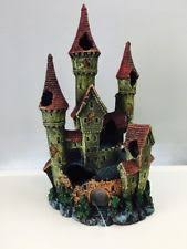fish tank castle ebay