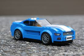 review lego 75871 ford mustang gt