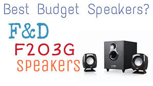 best budget home theater f u0026d speakers best budget speakers youtube