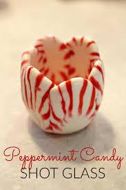 peppermint candy shot glass princess pinky