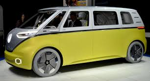 volkswagen electric concept vw minibus camper concept new shape volkswagen electric vans