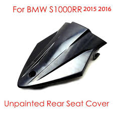 bmw rear seat protector for bmw s 1000rr motorcycle abs plastic unpainted rear seat cover