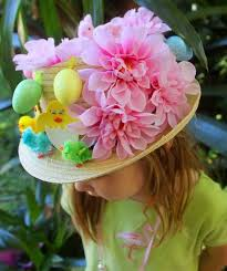 easter bonnet easter bunny ears plate hat use two simple tools to get this