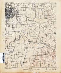 map of columbus ohio historical topographic maps perry castañeda map collection