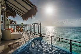 over the water bungalows red amore travel