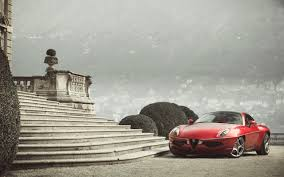 alfa romeo disco volante touring superleggera wallpaper hd car