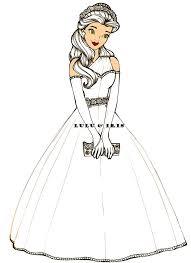 disney princess wedding dresses belle by lulu ibeh on deviantart