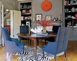 Zebra Dining Room Chairs by Contemporary Celebrity Home Interior Decorating Ali Wentworth