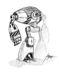 concept robot sketches by jake parker mecha pinterest robot