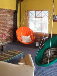 Room Hammock Chair Exterior Design Comfortable Black Cushions Ikea Hanging Chair For