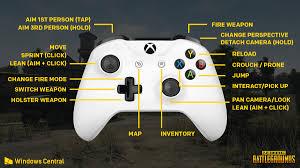 a look at playerunknown u0027s battlegrounds pubg xbox one controls
