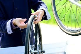 changer une chambre à air changement chambre à air vélo pneu crevé roue le de mon
