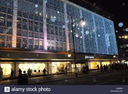 london uk 6 november 2014 john lewis in oxford street shops in