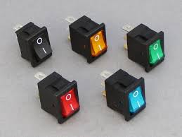lighted rocker switch 12v 12v 16a 1 way mini rocker switch illuminated 12 volt planet