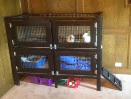 Large Rabbit Hutch 25 Free Rabbit Hutch Plans You Can Diy Within A Weekend The Self
