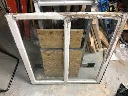 diy stripping steam box for antique window glazing removal and