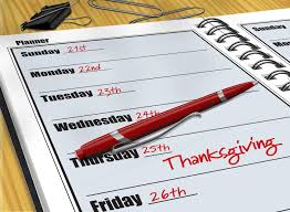 why is thanksgiving always on a thursday wonderopolis