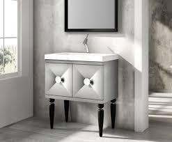 aras 31inch modern bathroom vanity dove grey finish