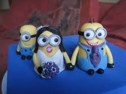 minions cake toppers minion groom cake toppers cakecentral