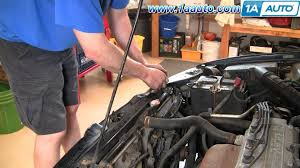 1994 honda accord radiator how to install repair replace passenger side radiator engine
