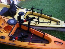 porta kayak per auto kayak fishing crate ideas new custom pvc crate pimpin the yak