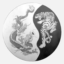 yin yang tiger and dragon tattoos photos pictures and sketches