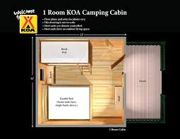 one room cabin floor plans cing cabins between tent cing and a hotel missoula koa