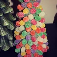 how to make a gumdrop tree busy