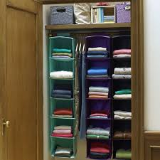 closet hanging storage ideas