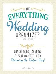 wedding organizer book the everything wedding organizer book by shelly hagen official
