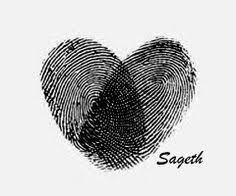 32 inspiring sister tattoo design ideas fingerprint heart