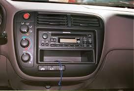 2002 honda civic radio 1999 2000 honda civic car audio profile